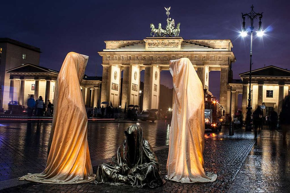 Guardians of Time by Manfred Kielnhofer, Berlin. Photo:    kielnhofer.at
