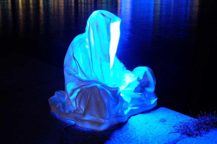 Guardians of Time,Photo: Light Art Biennial contemporary art design architecture