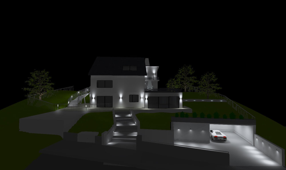 External lighting - visualization