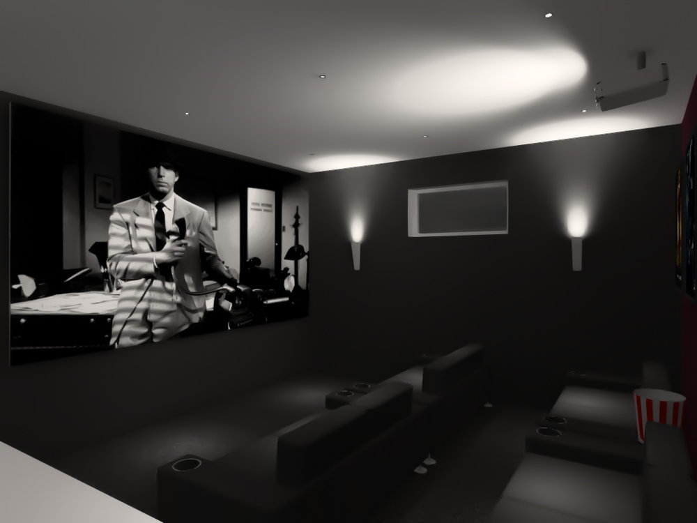 Cinema - lighting visualization