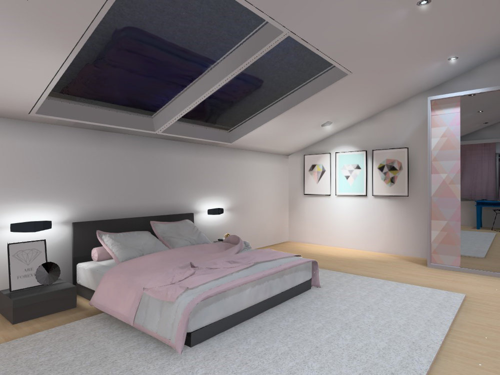 Kids bedroom visualization