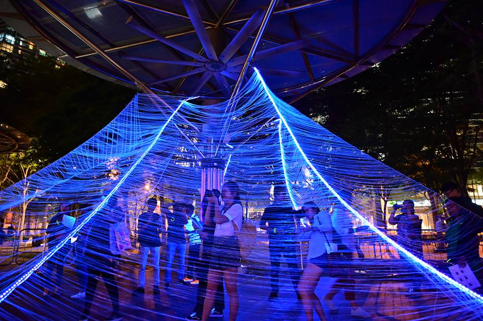 Cosmic Web by Foo Hui Wen, Lim Yu Zhi and R.Yashini from    LASALLE College of the Arts   (Singapore)