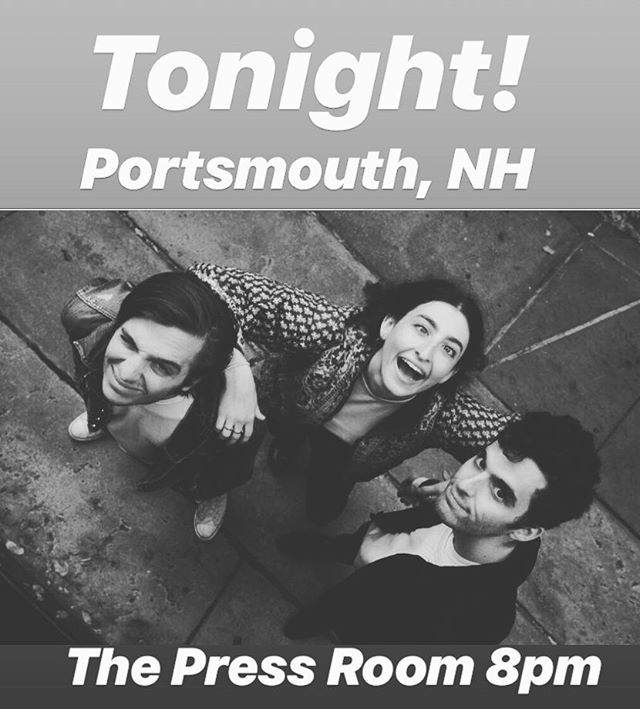 So excited to share the stage with @upstatelovesyou tonight in Portsmouth!
