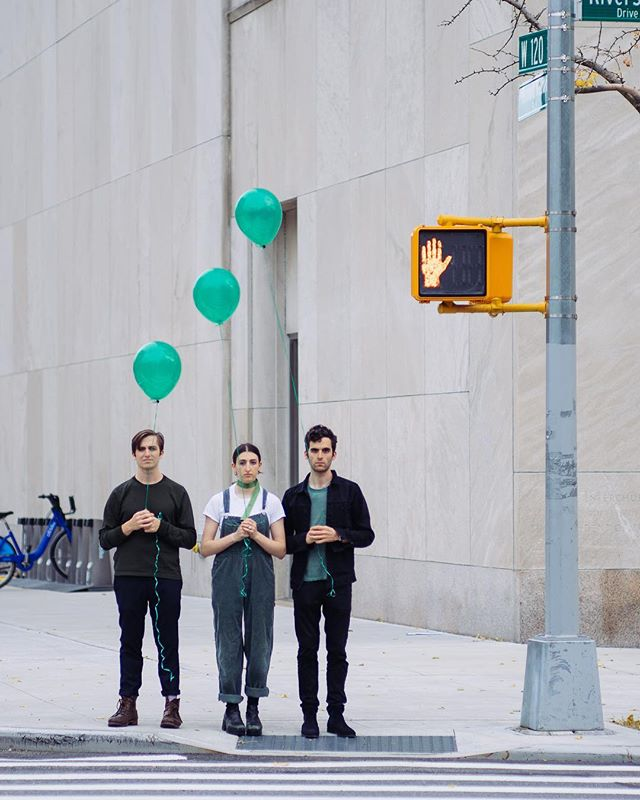 We are so #thrilledtobehere we have #balloons to #celebrate our #albumrelease. TOMoRROW at @musichallofwb with @theradtrads. Link in bio. Make some noise if you're coming! 🎈🎈🎈📸@jcb.haus