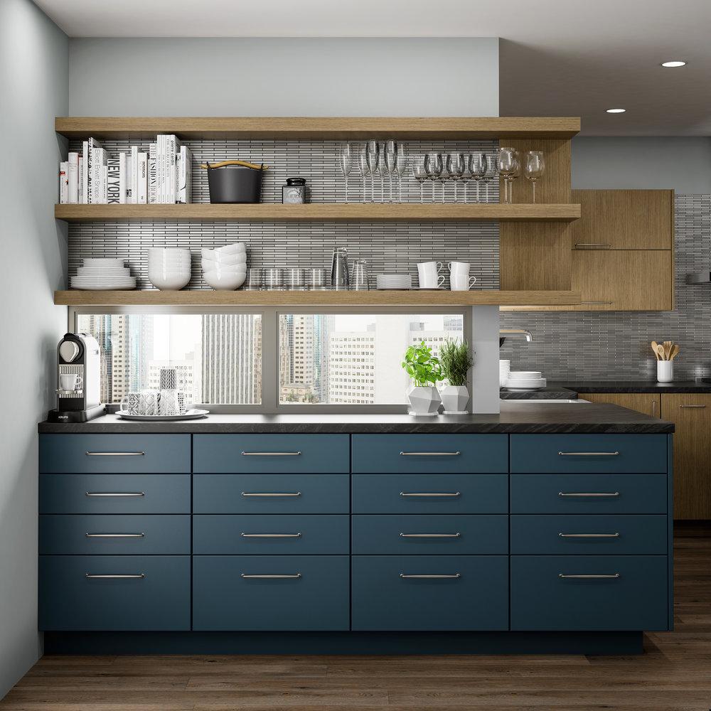 Dura Kitchen modern blue ocean cab.jpg