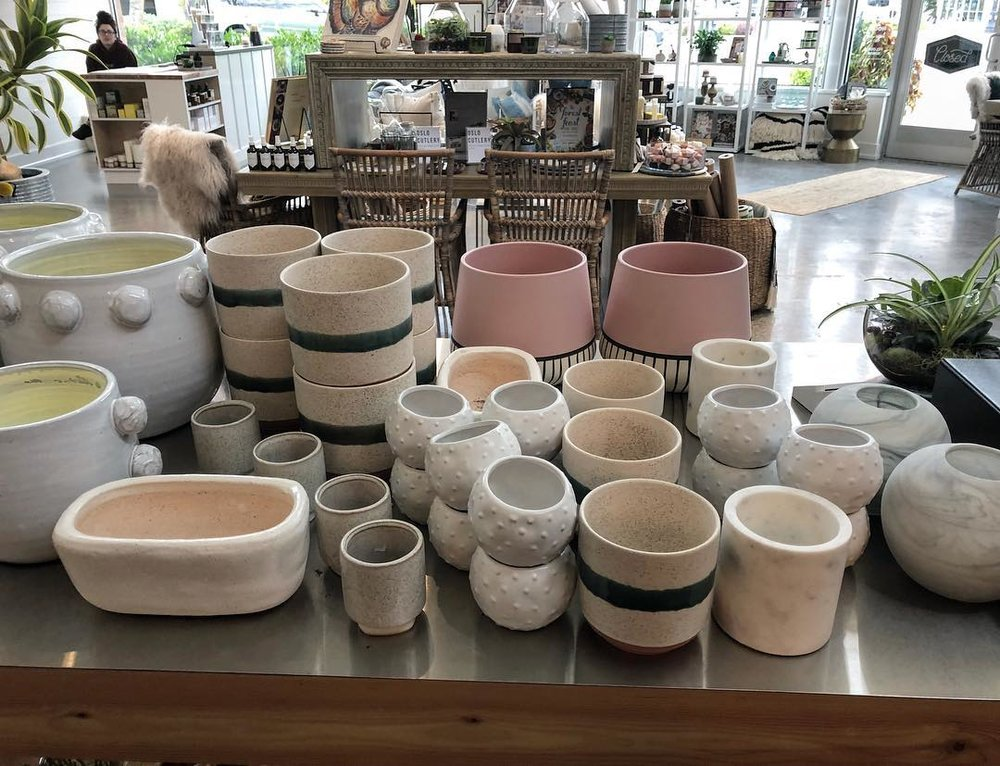 plant pots - Your new plant friend deserves a beautiful new home. Check out my rotating selection of pots for your plants.
