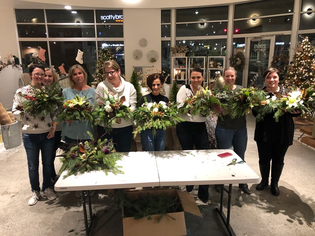 Floral Workshop in Bellingham
