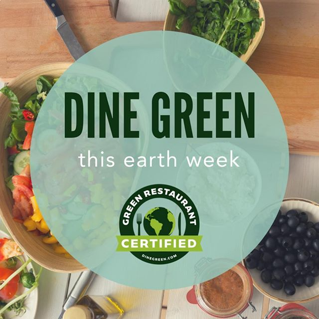 Dine Green here at Maple Landing! 🌏#dinegreen #maplelanding #happyearthday #earthweek