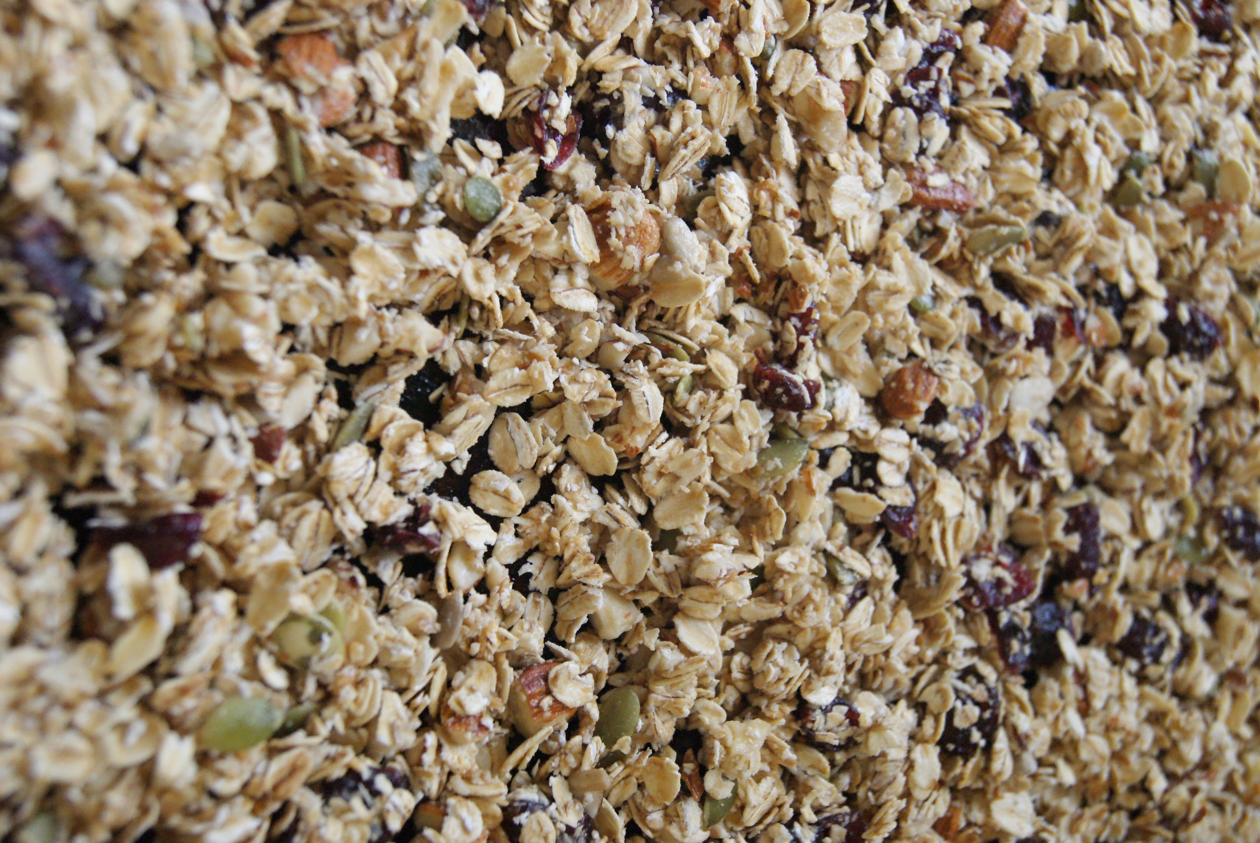 Upclose-and-personal with granola