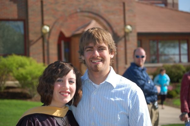 At my MSW graduation, 2008.