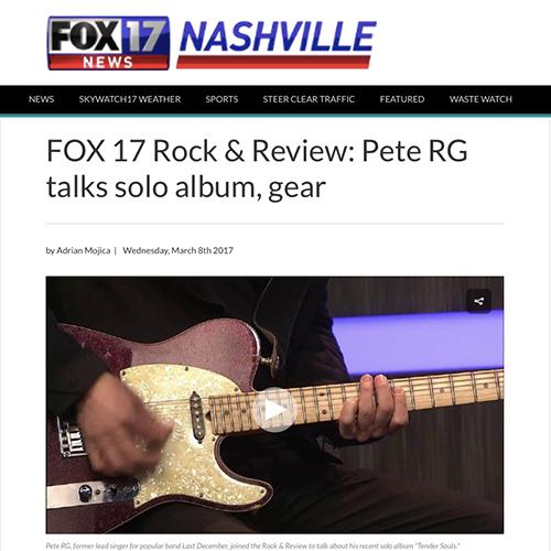Fox TV Nashville   March 2017