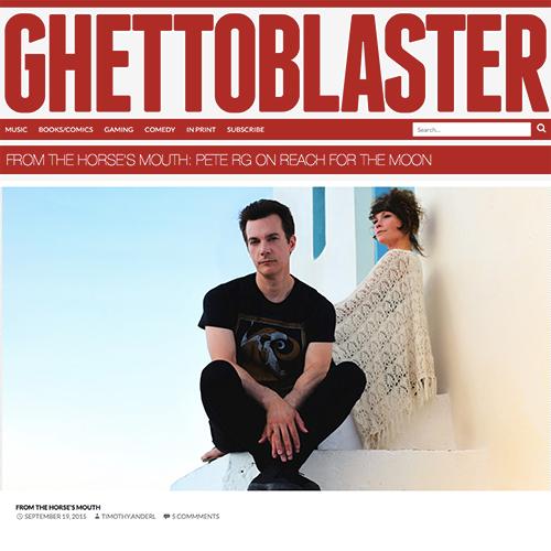 Ghettoblaster   September 2015