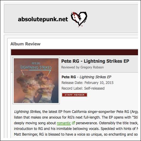 Absolute Punk   February 2015