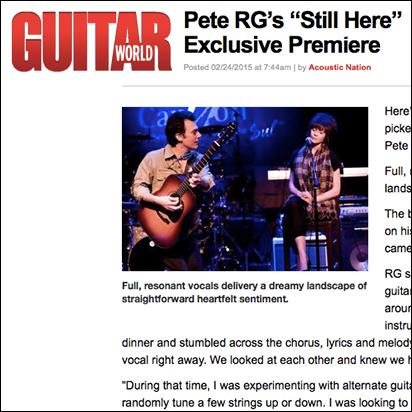 Guitar World   February 2015