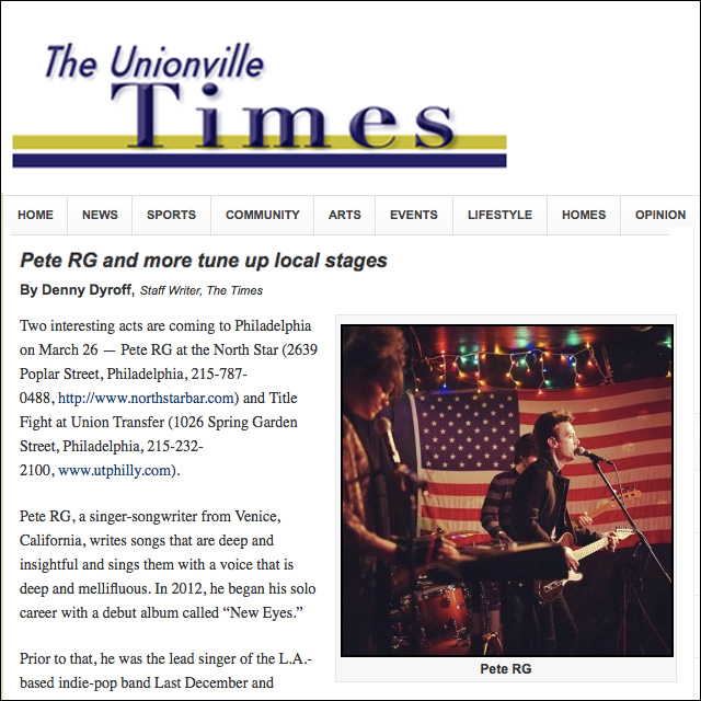 Unionville Times   March 2015