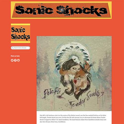 Sonic Shocks | January 2017