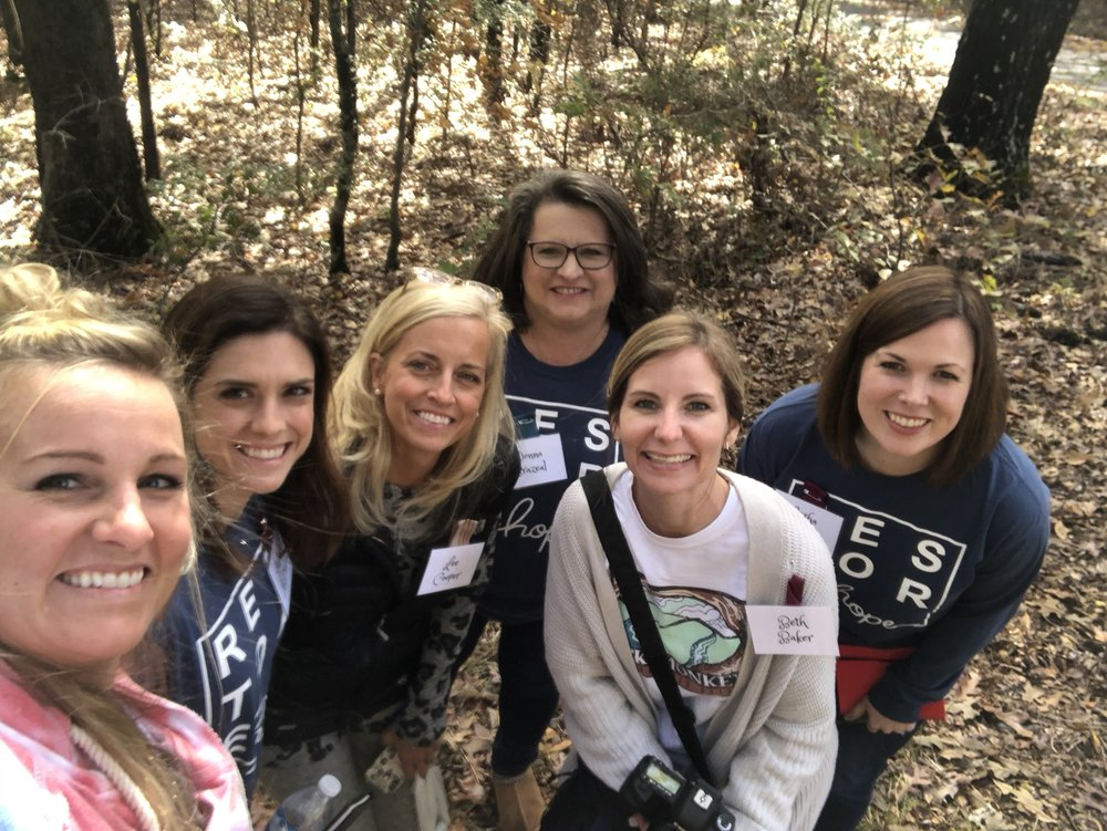 Some sweet moms from our 2018 Restore Moms Retreat at King's Ranch.