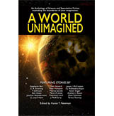 "What goes around…   This story is #17/20 in Left Hand Publishing's anthology, A World Unimagined.  Something about the aliens who've landed on the insignificant planet, Deloqk sounds too good to be true to Captain Gnarnell. She sets out to uncover what she's sure is subterfuge.  Is Gnarnell's suspicion justified?  If so, do the aliens prevail?  Or do the Deloqkites rise to the occasion?  What happens to Gnarnell, her troops, and her planet will keep you speculating and turning pages until the end.   At just over 10,000 words, ""What Goes Around..."" is a quick, compelling read."