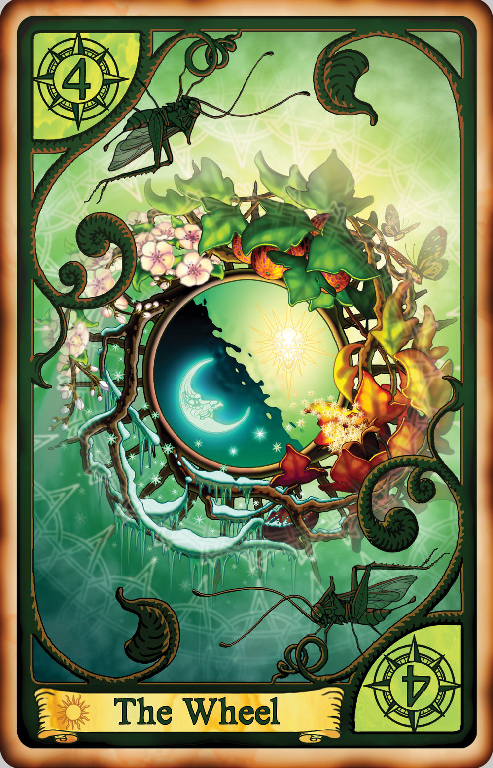 Upcoming Rochi Card Game - Enjoy more of Mark's art in this fabulous upcoming card game inspired by Sonia Lyris's SEER series. Take a look!