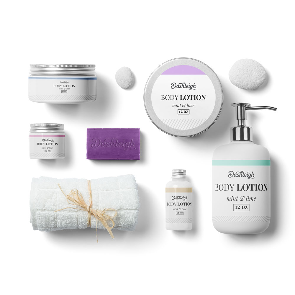 Minimal Lines Cosmetic Labels