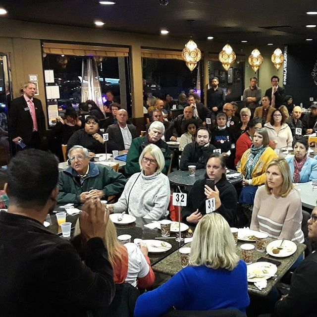 Sending a huge thank you to the Chicano Latino Immigrant Democratic Club of Orange County for organizing last night's meet and greet and Q&A. Tons of thoughtful questions and comments from activists grappling with recent legislative wins and looking to push those wins further down the ticket.