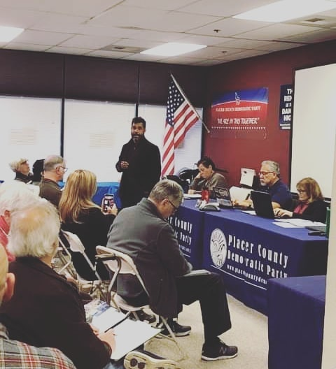 Thank you, Placer County Dems! Tonight I talked to a Central Committee with a year-round headquarters that is gearing up fast for 2020. As your CDP Chair, I want to facilitate communication among County Party leaders so they can share their best practices. We have so much wisdom and experience in our local activist base!