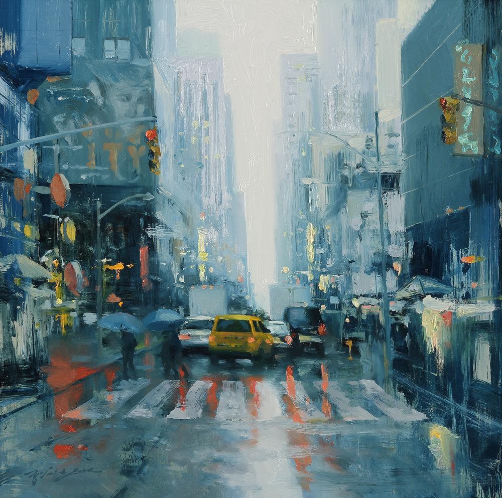 Broadway Reflection