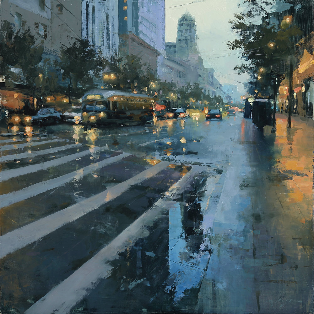Market Street Reflection