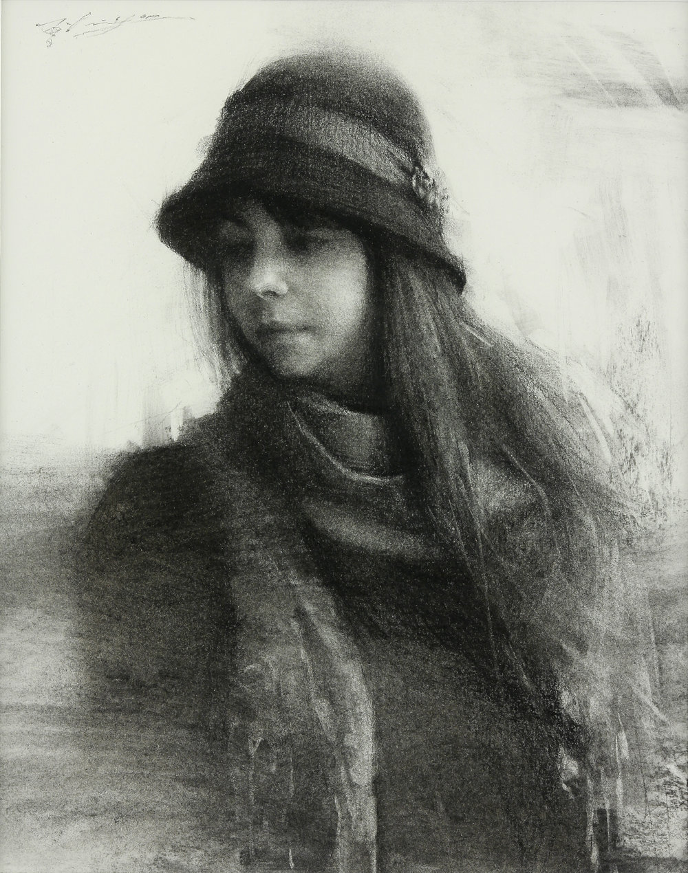 Sketch of Nicole Album