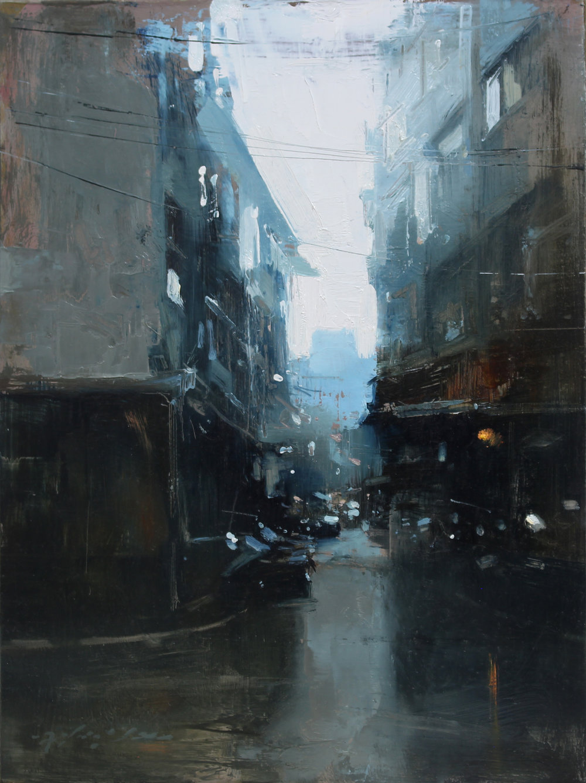 Taiwan Alley in Green Grey