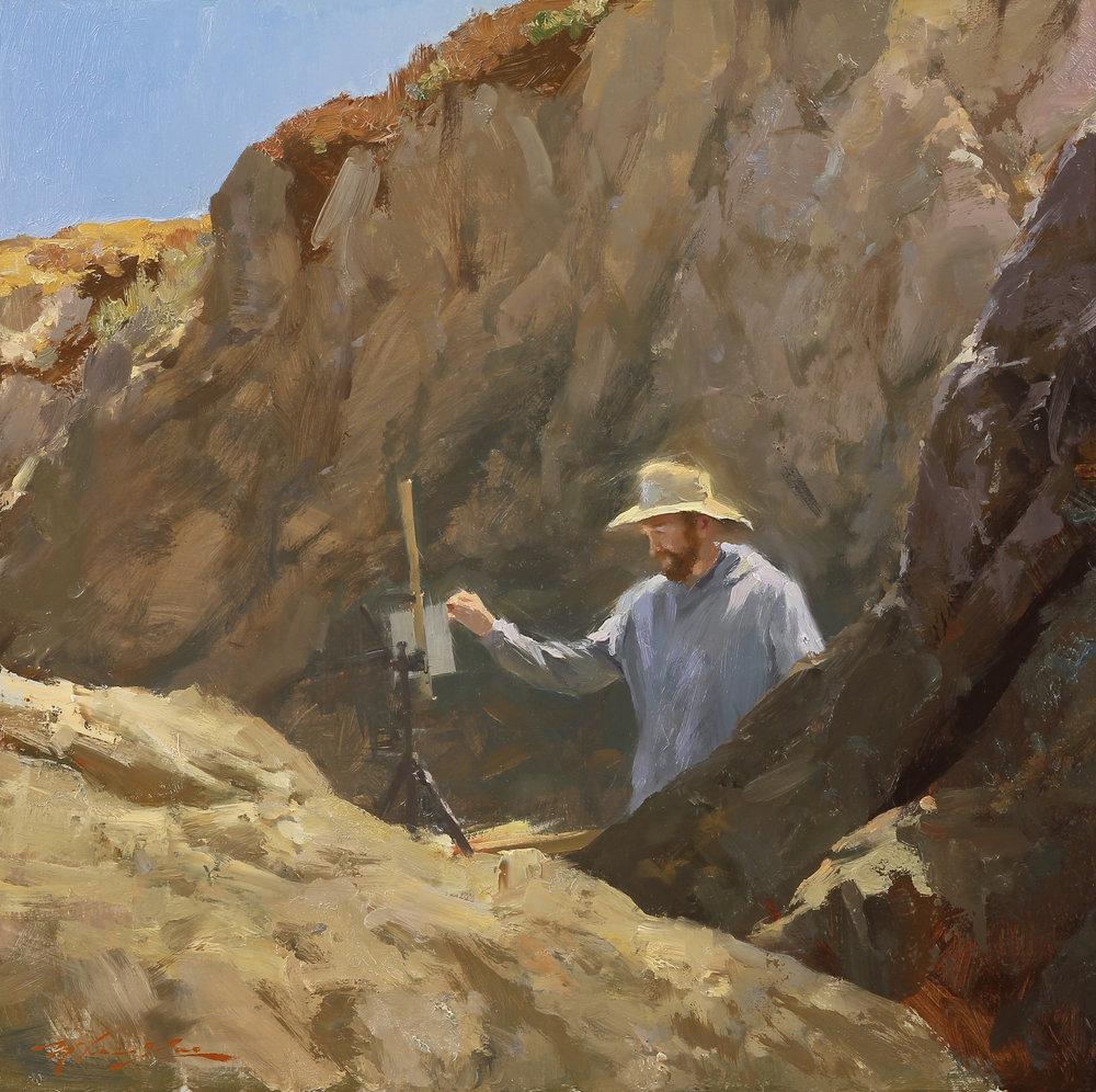 Artist Jacob En Plein Air