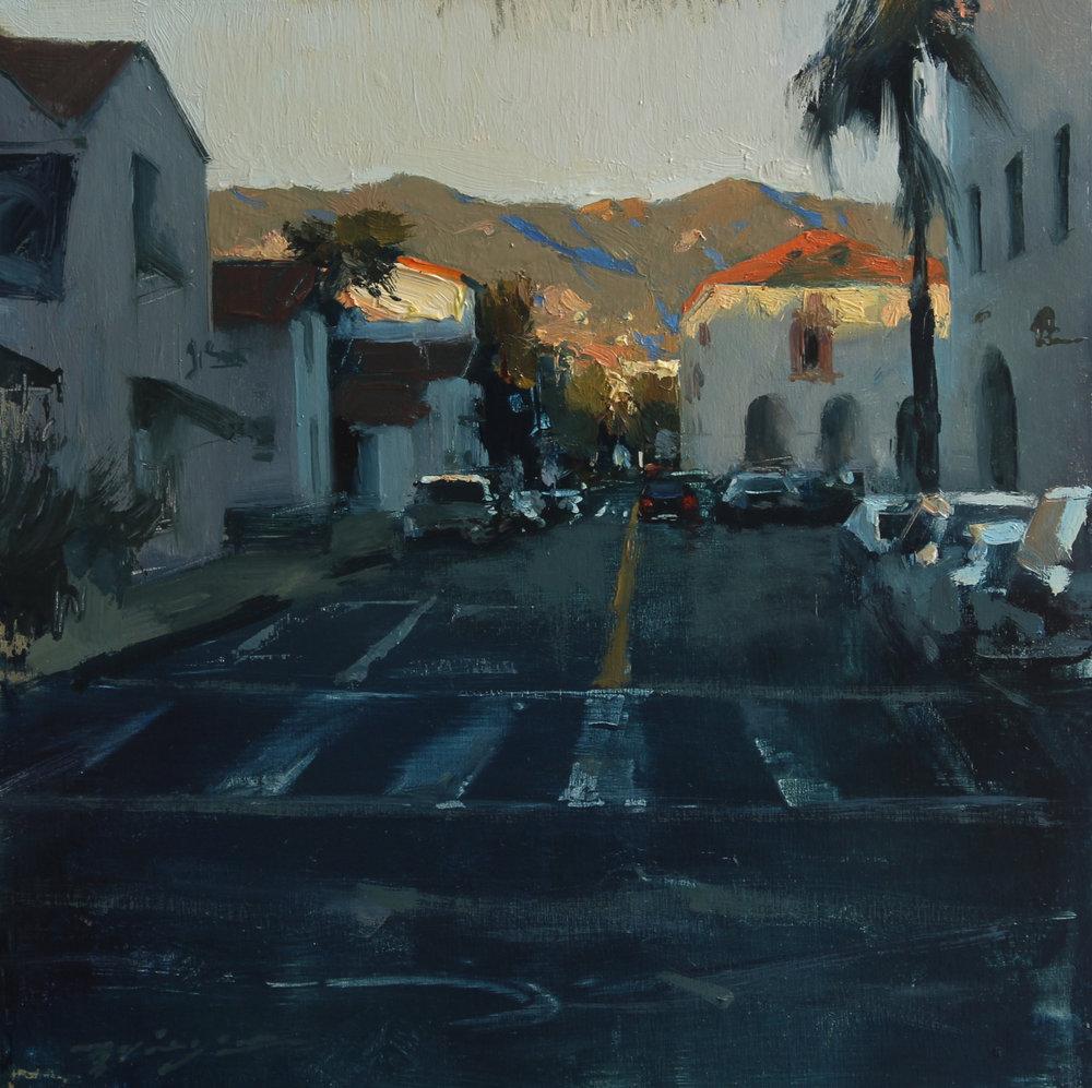 Santa Barbara Downtown Sunset