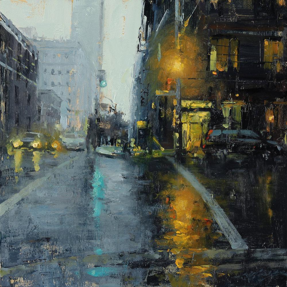 City Rain in New Indigo