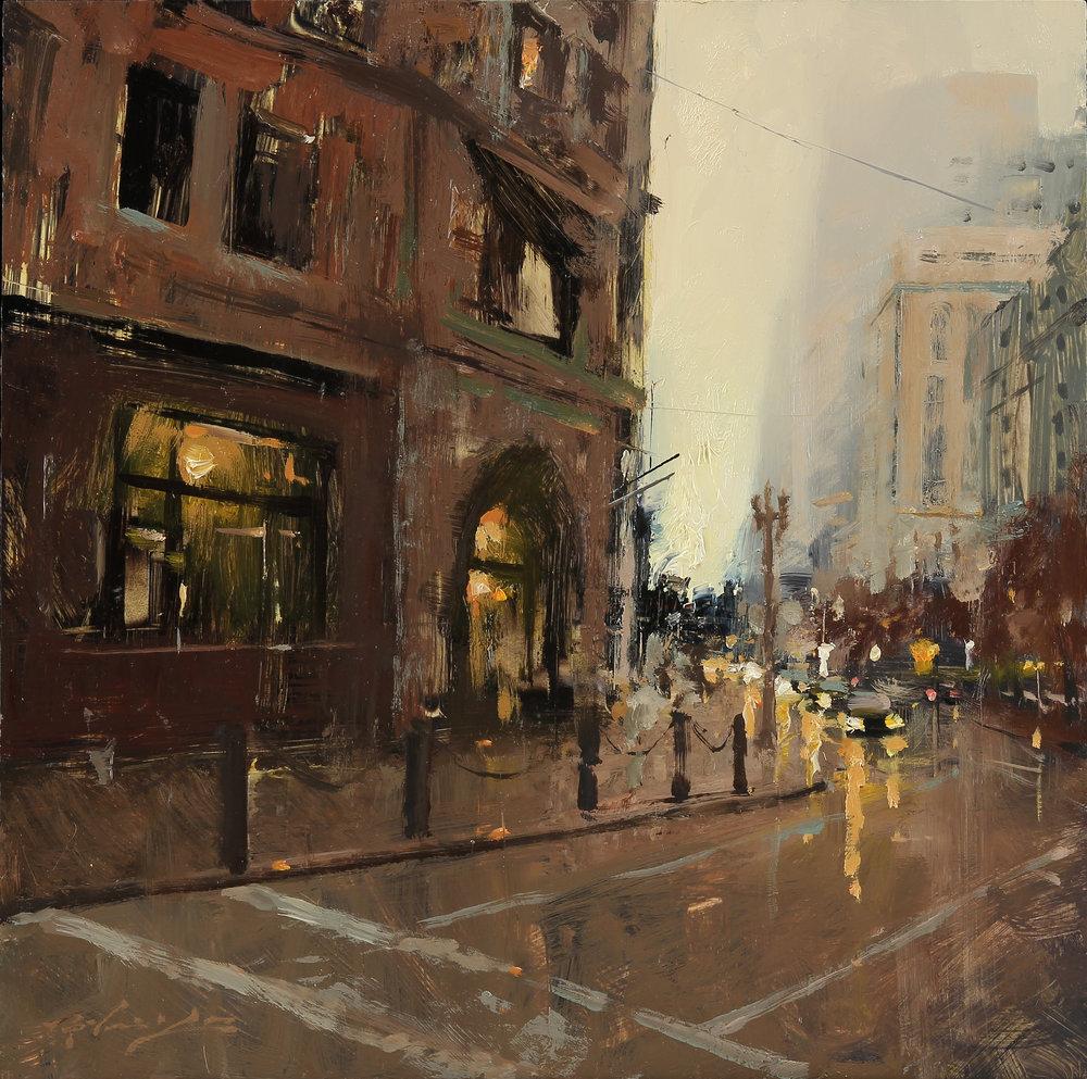 Evening at Market Street.