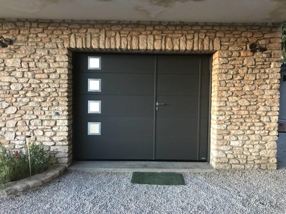 porte de garage wavre, porte de garage autolatisée, porte de garage brabant-wallon, maison habitat 3.JPG
