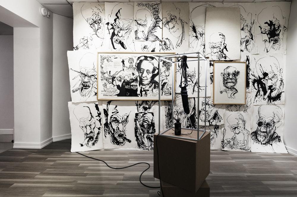 Thomas Kvam, Natural Born Pollock. QB Gallery