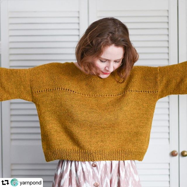 Thank you @yarnpond for helping to spread the word of my newest call for test knitters.. If you like the look of this easy tee then head on over to yarn pond to sign up as a test knitter. I'd love to welcome you!  Particularly looking for knitters who would like to knit a larger size (L and XL)  I'm looking forward to seeing what some of you come up with 😊  #testknit #testknitters #testknittersofinstagram #testknitterswanted #indieknitdesigner
