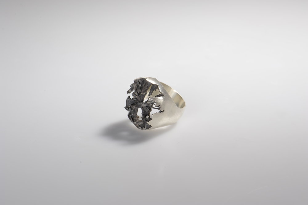 Nora Werner Ring Lost in Process II