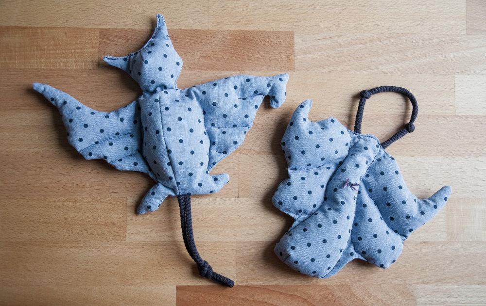 Glühstrümpfchen Bat Cat Nora Werner
