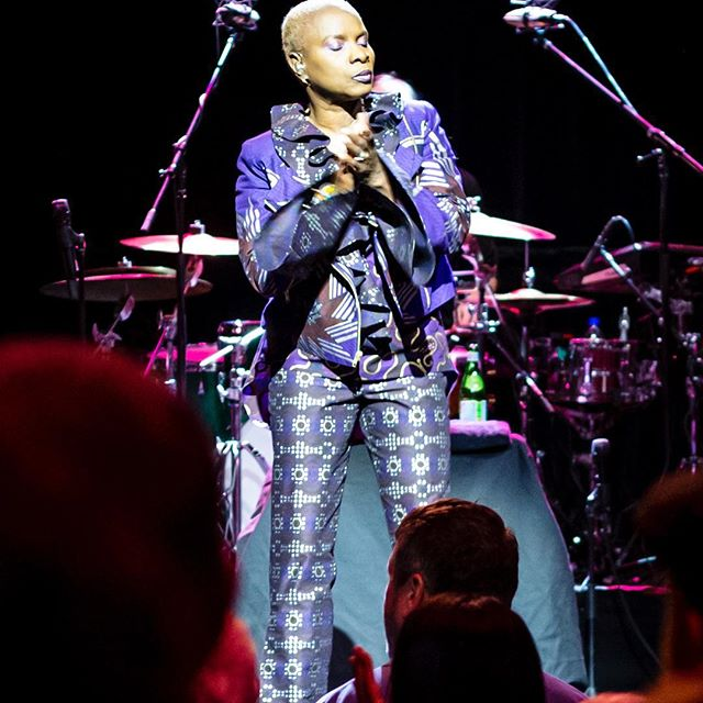 Angélique Kidjo - Sydney Opera House - 8 March 2019.  My live music photography started with me sneaking (mostly point and shoot or disposable) cameras into venues, taking snaps and hoping for the best.  Now, when I don't have a photopass, I still sometimes sneak a camera and a 'nifty 50mm' in and see what I can get. I can't help myself.  Angélique Kidjo was incredible. Infectiously joyful, heartbreakingly soulful and an unstoppable force of vocal power. Her reinterpretation of Talking Heads' Remain In Light is phenomenal.  #angeliquekidjo #croppedbyinstagram #sydneyoperahouse #livemusic #livemusicphotography #talkingheads #remaininlight #internationalwomensday #concertphotography #sydneyphotographer #musicphotographer  @angeliquekidjo
