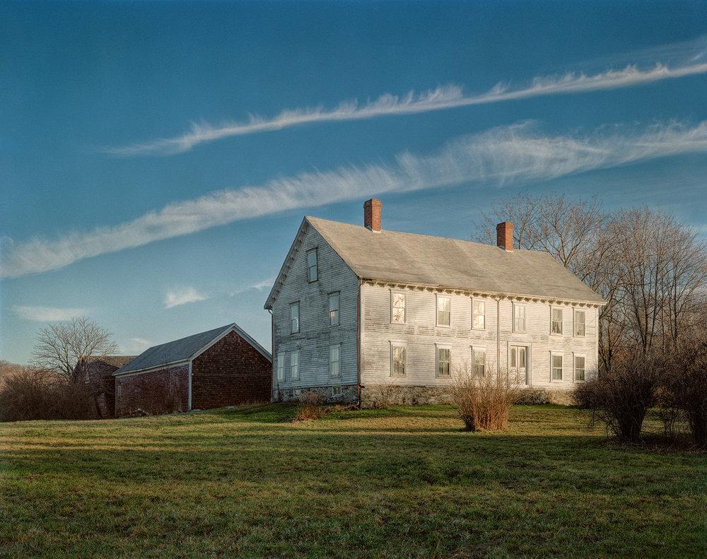 Old House, Tiverton, Rhode Island © Mel Adelglass