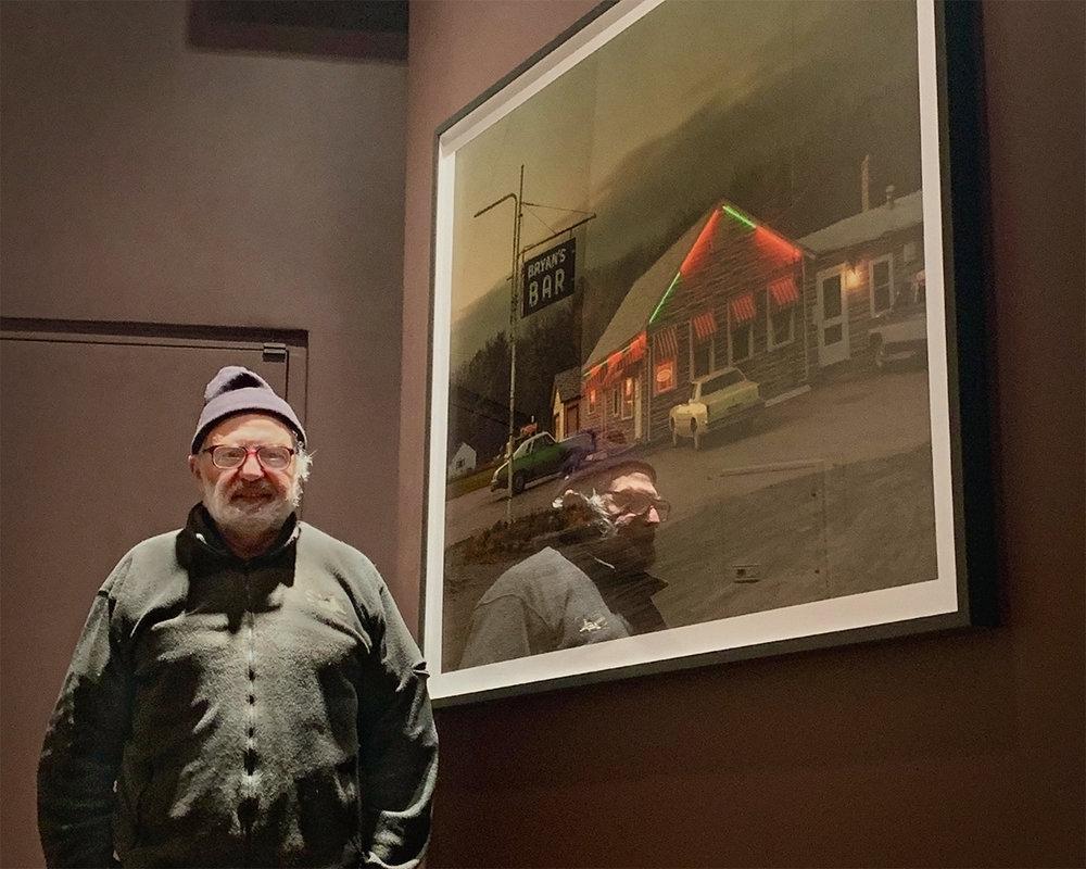 Bryan's Bar ca. 1985, New York (digital print, 5ft x 4ft) Photo of Mel Adelglass © 2018 Todd Weinstein