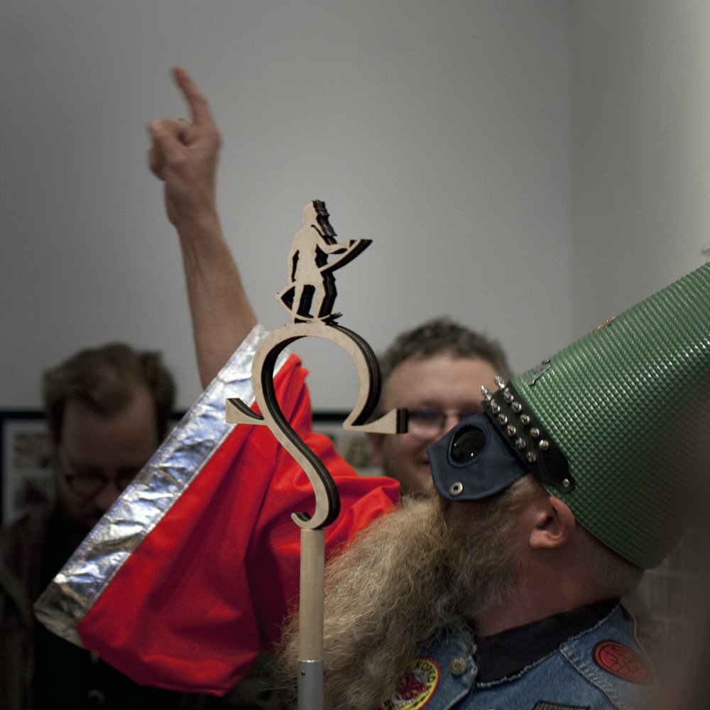 AntiPope Omega I and Fuck Off Nu Åker Vi