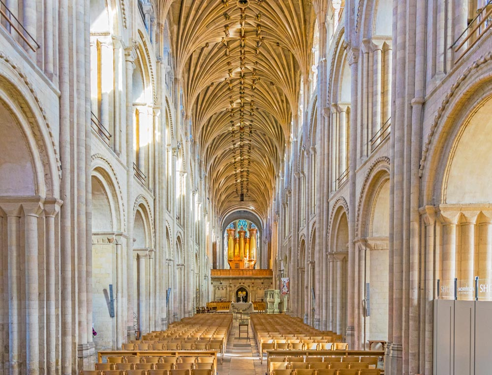 Norwich Anglican Cathedral - photo courtesy of  Pxhere