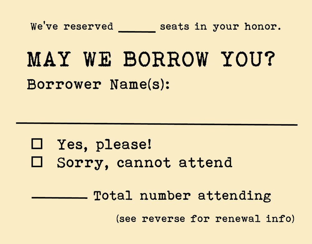 Response Card - Front
