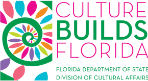 Sponsored in part by the State of Florida, Department of State, Division of Cultural Affairs and the Florida Council on Arts and Culture.