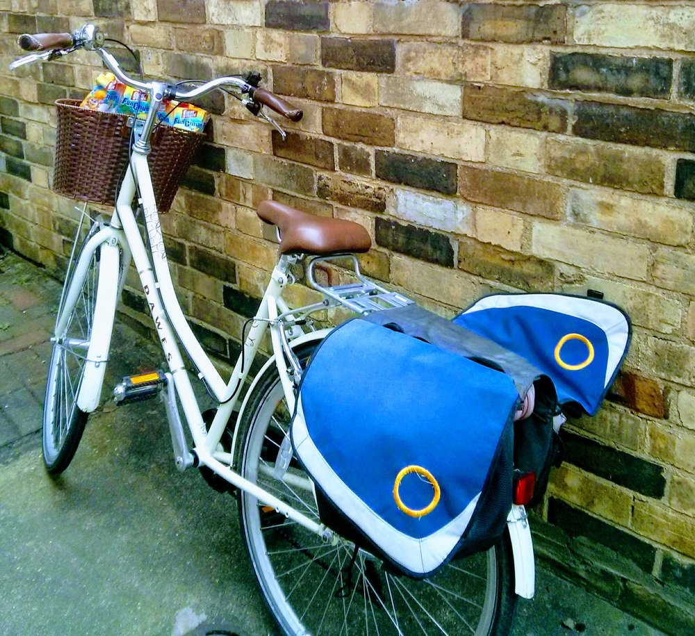 - It no wonder my delivery system often involves the bike!It's a Dawes Duchess bike if you're asking.