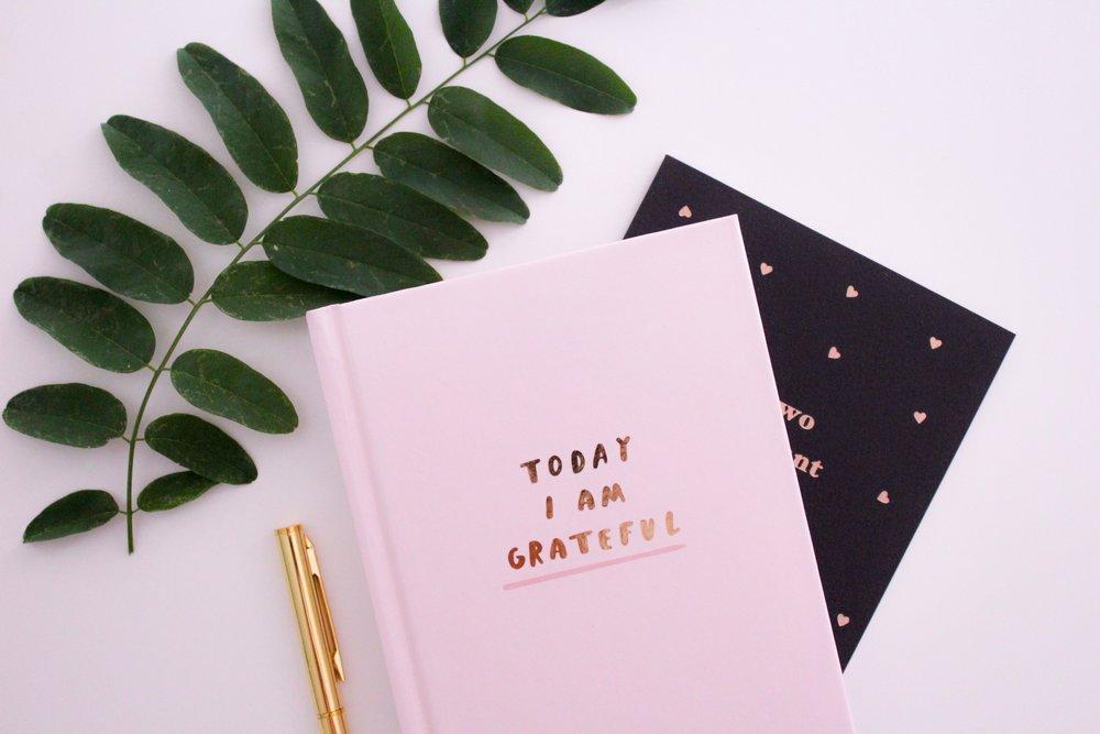La gratitude au quotidien est possible avec un simple cahier