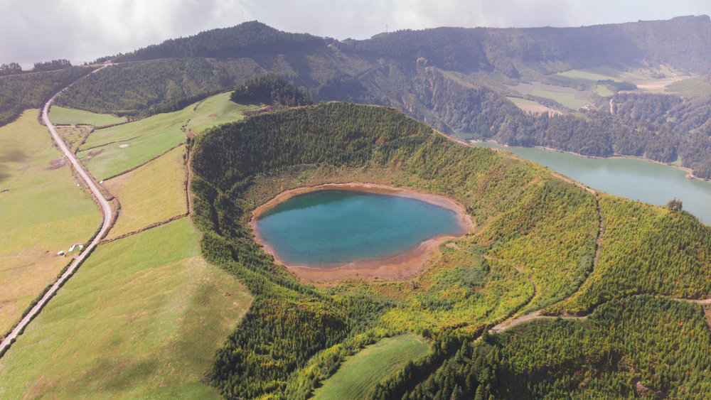 Lagoon in Azores