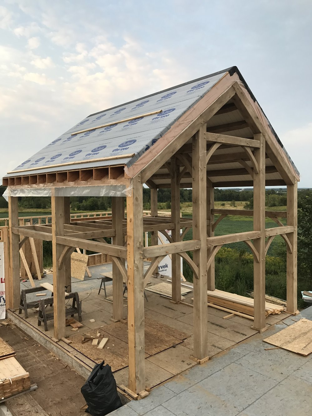 The Process — Revival Timber Frames